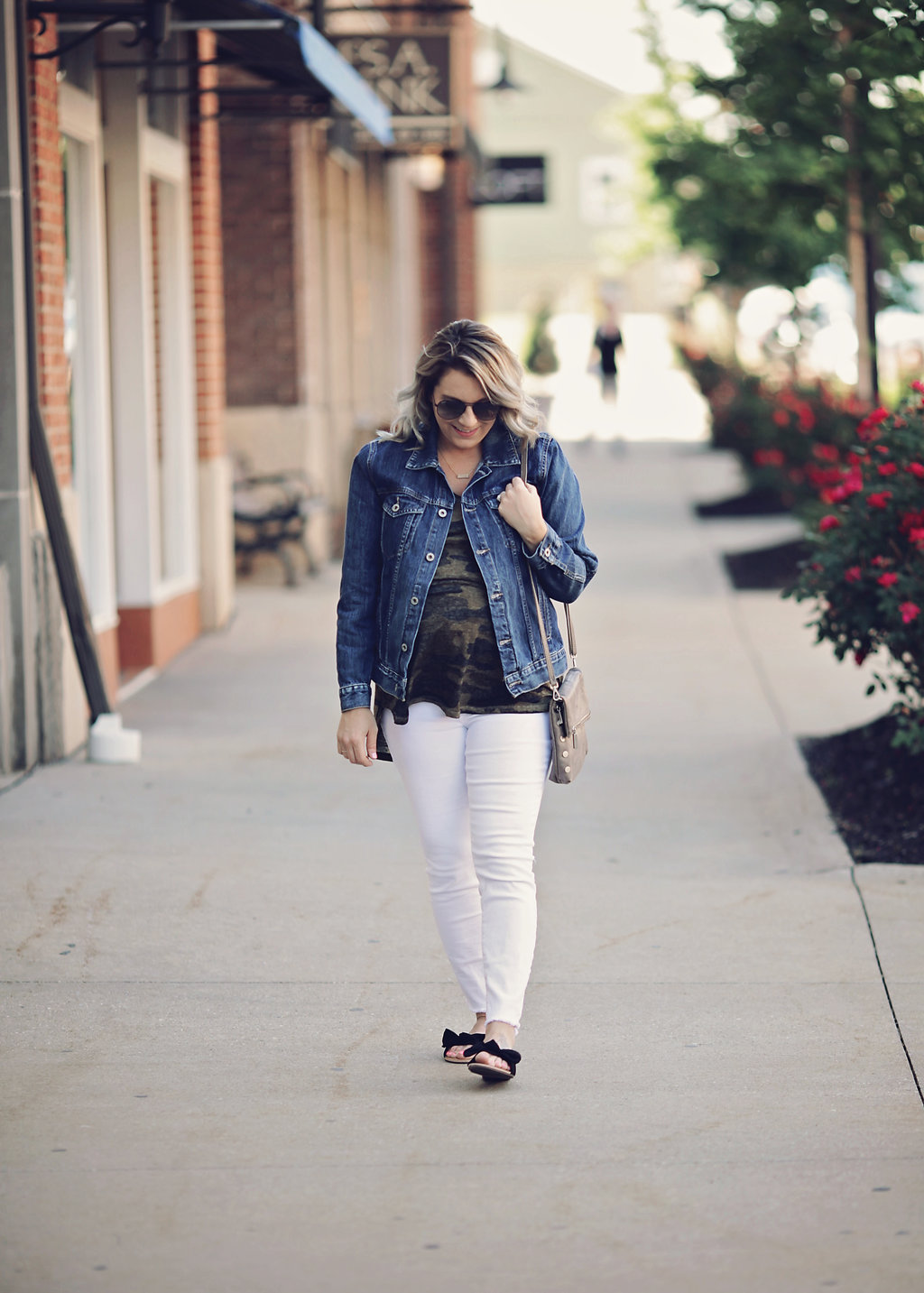 Casual look featuring summer fashion with Lucky Brand