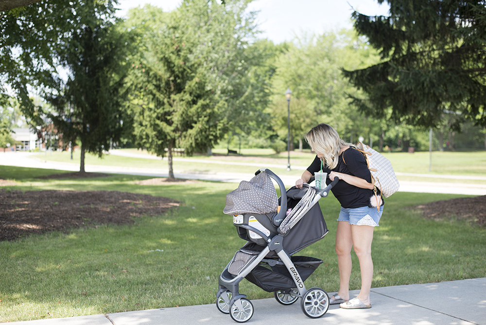 Cleveland blogger The Samantha Show shares The best lightweight travel system for 2018.