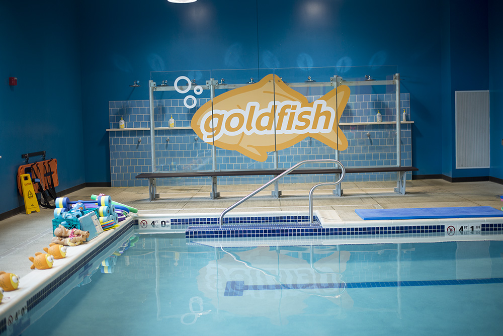 Not sure How to get your kids to love swimming lessons? Goldfish Swim School is the answer!