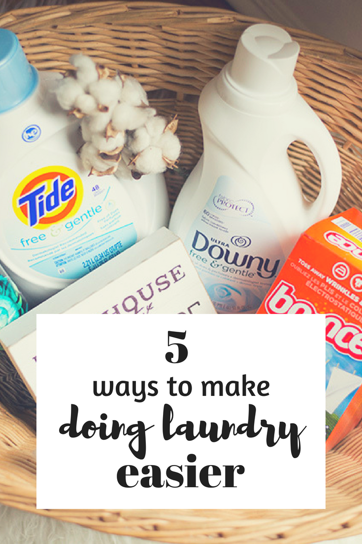 Cleveland blogger The Samantha Show shares 5 ways to make doing laundry easier!