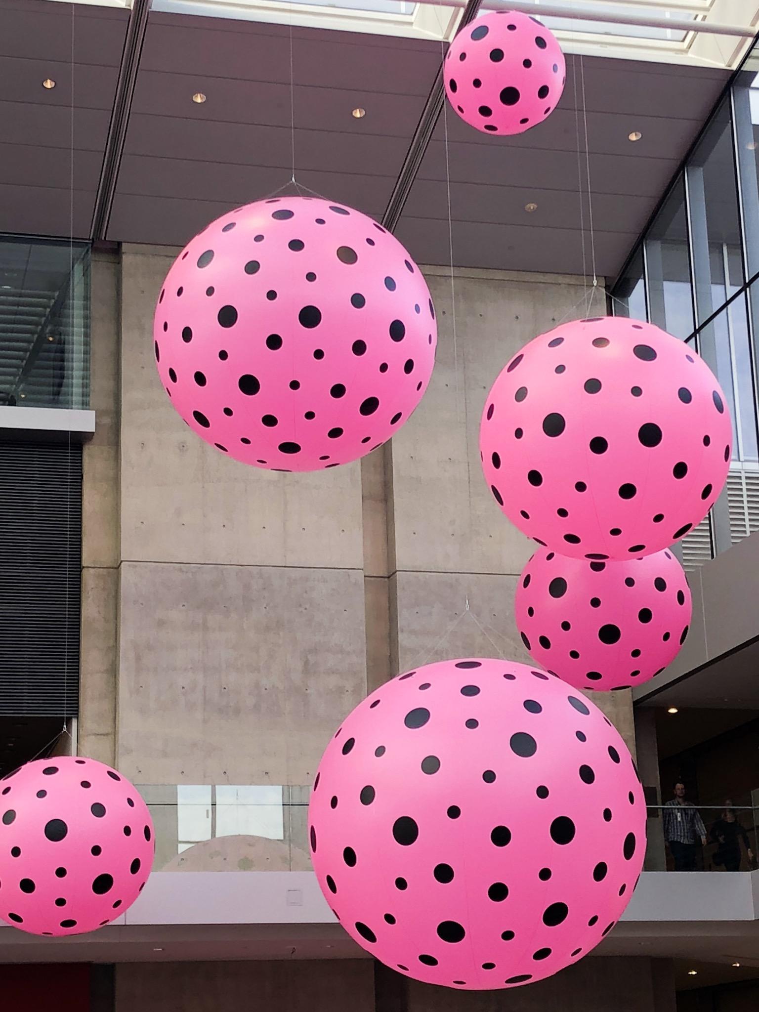 Yayoi Kusama Infinity Mirrors Polka Dots