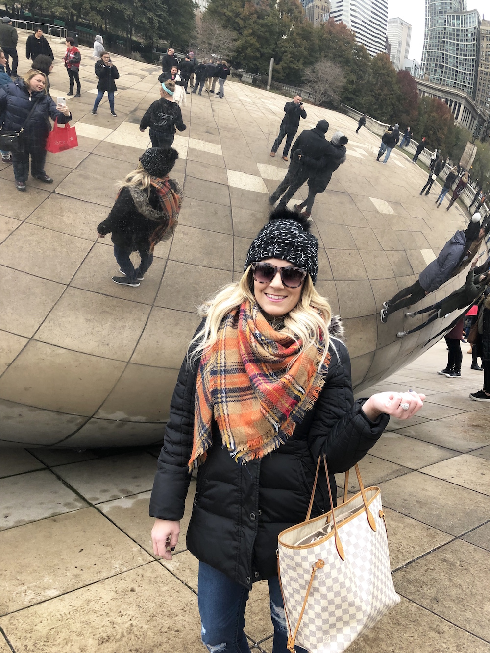 Visiting Millenium park is one of the Best things to do in Chicago during the holidays
