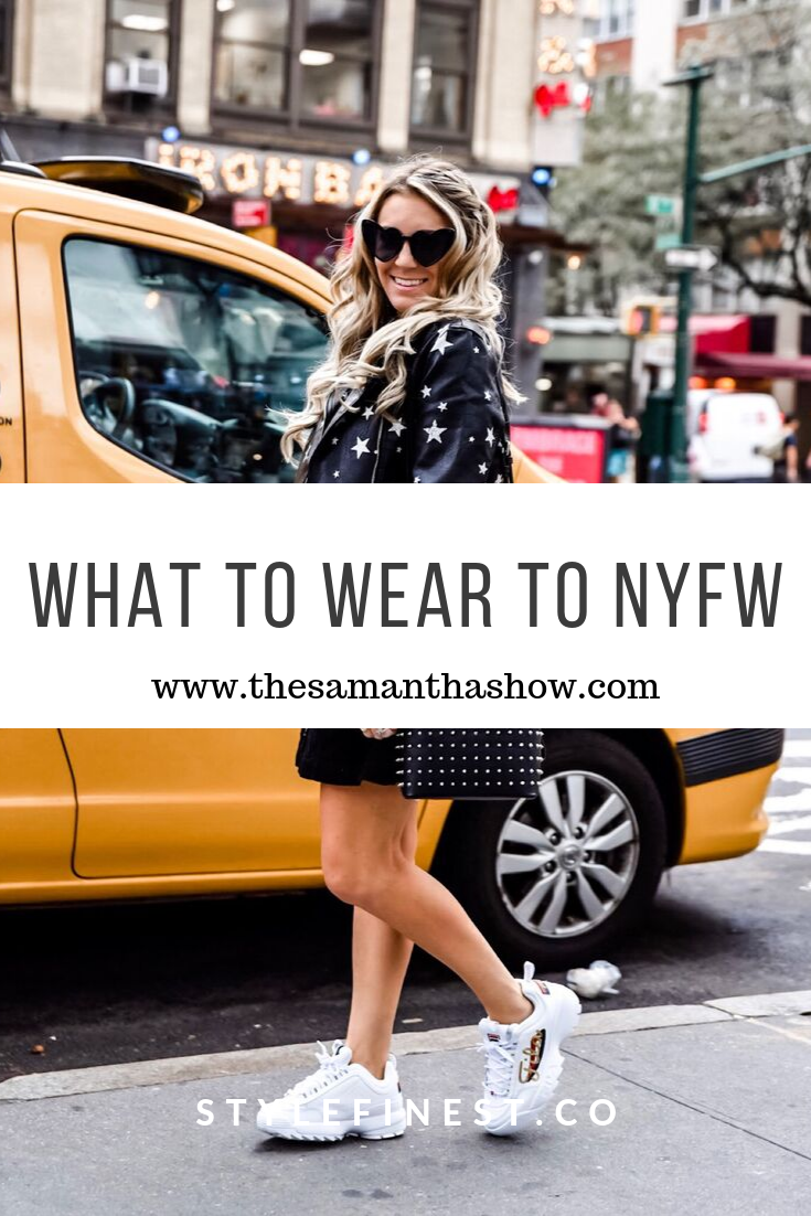 what to wear to new york fashion week