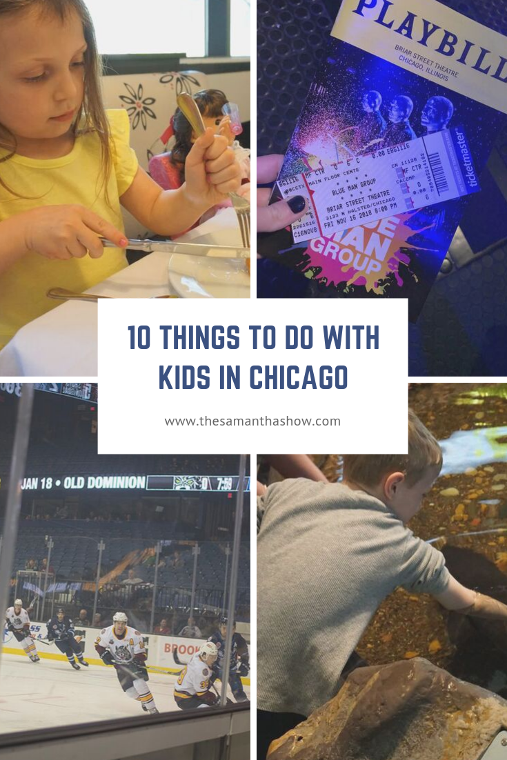 10 things to do with kids in Chicago!