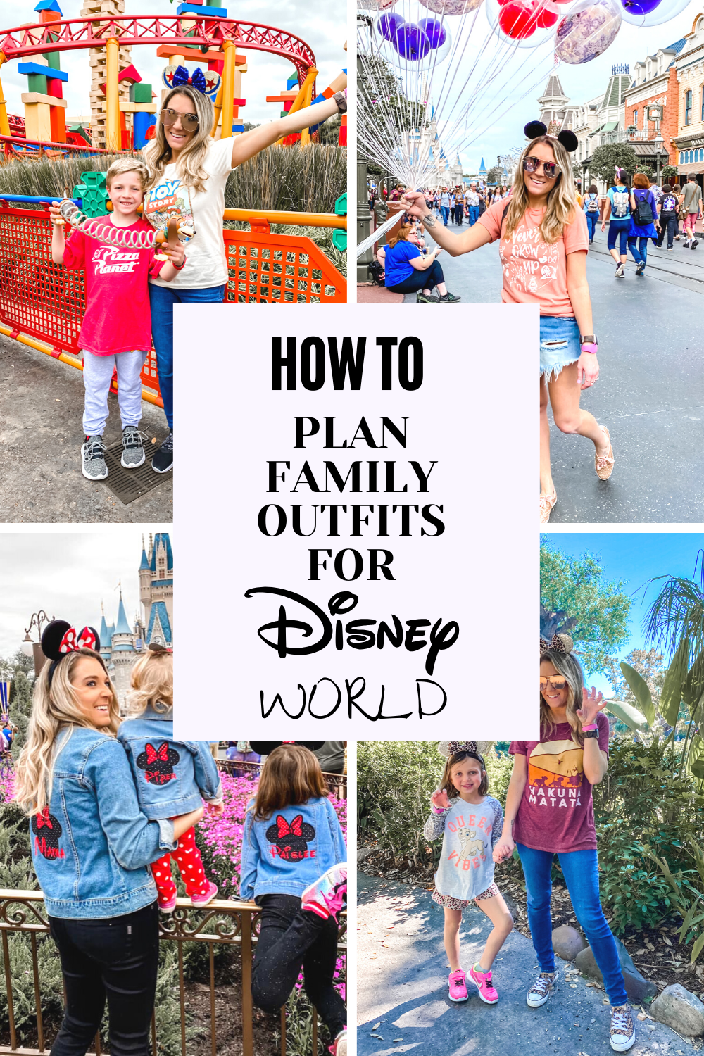 family outfits for Disney World