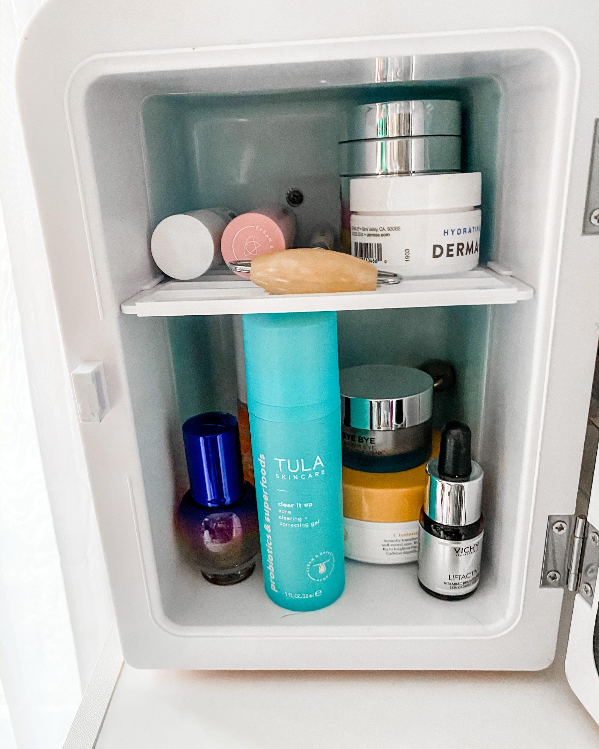 what's in my skincare fridge?