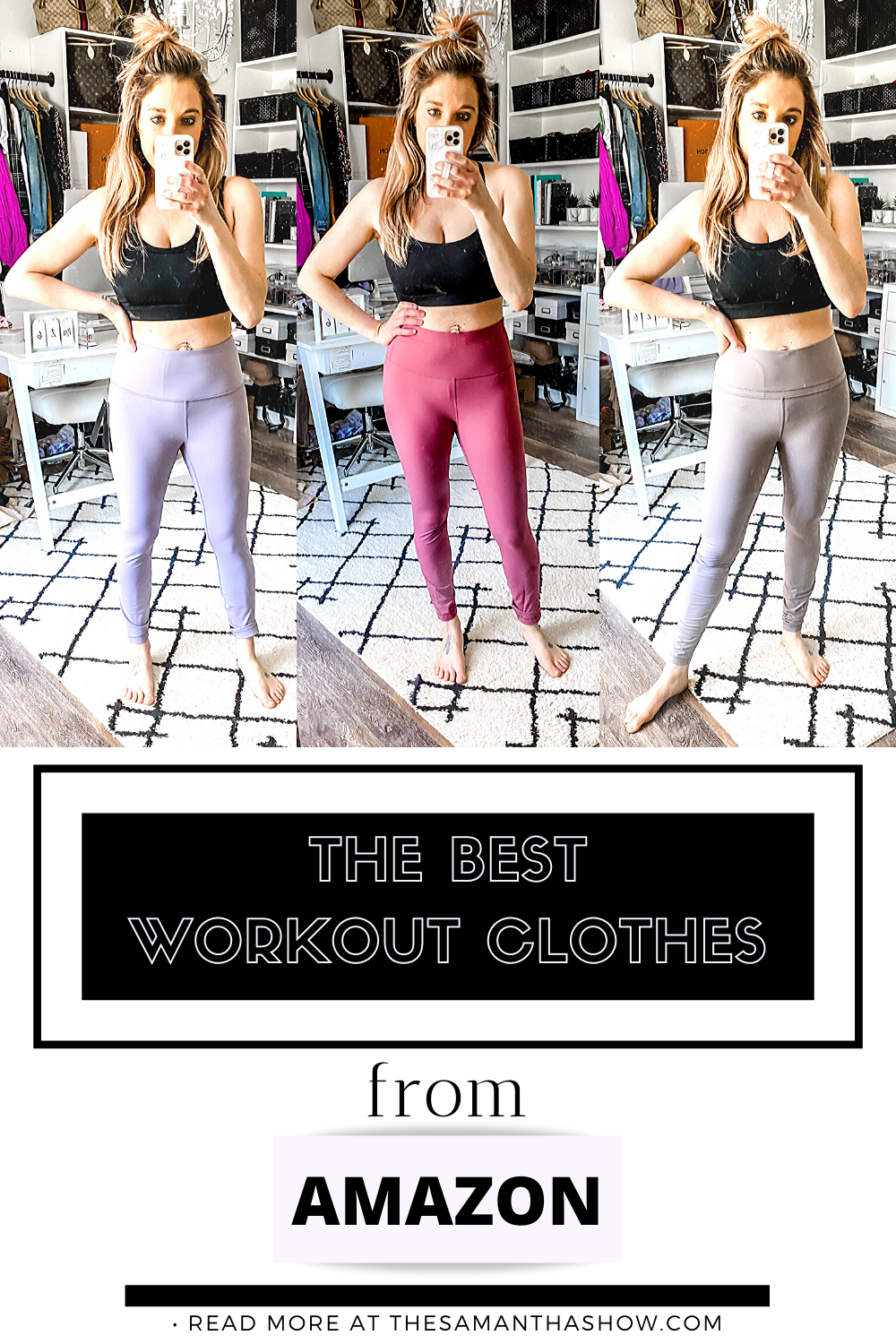 the best workout clothes from Amazon