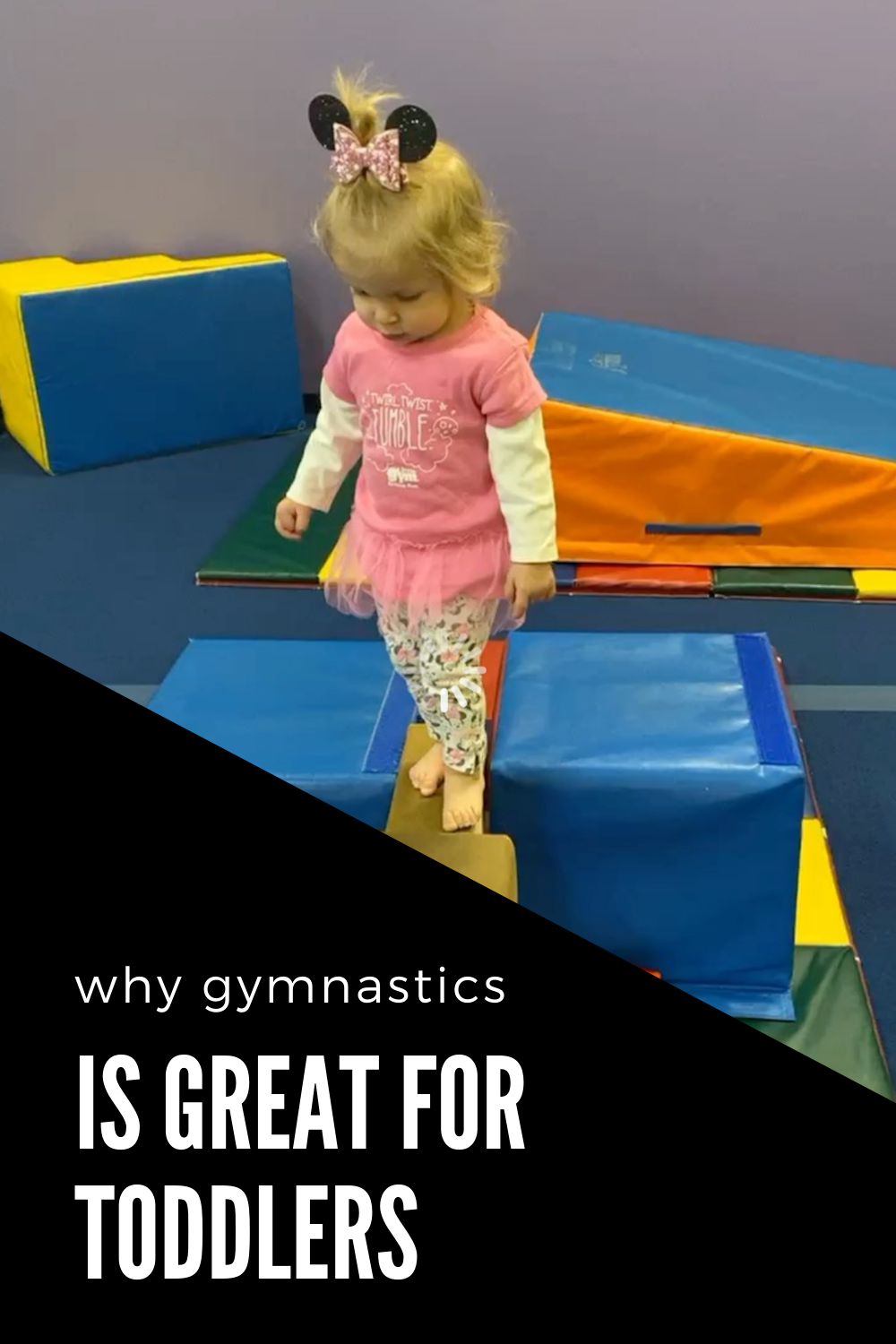 4 reasons why gymnastics is great for toddlers