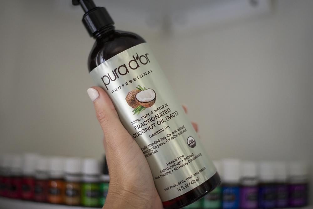 fractionated coconut oil for DIY essential oils