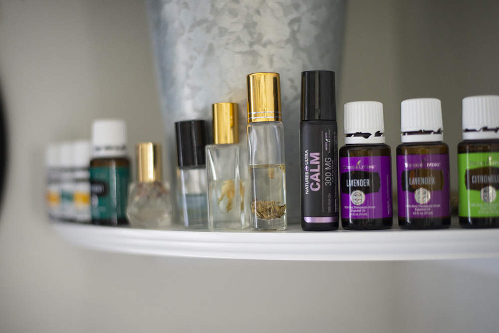DIY young living essential oil rollers
