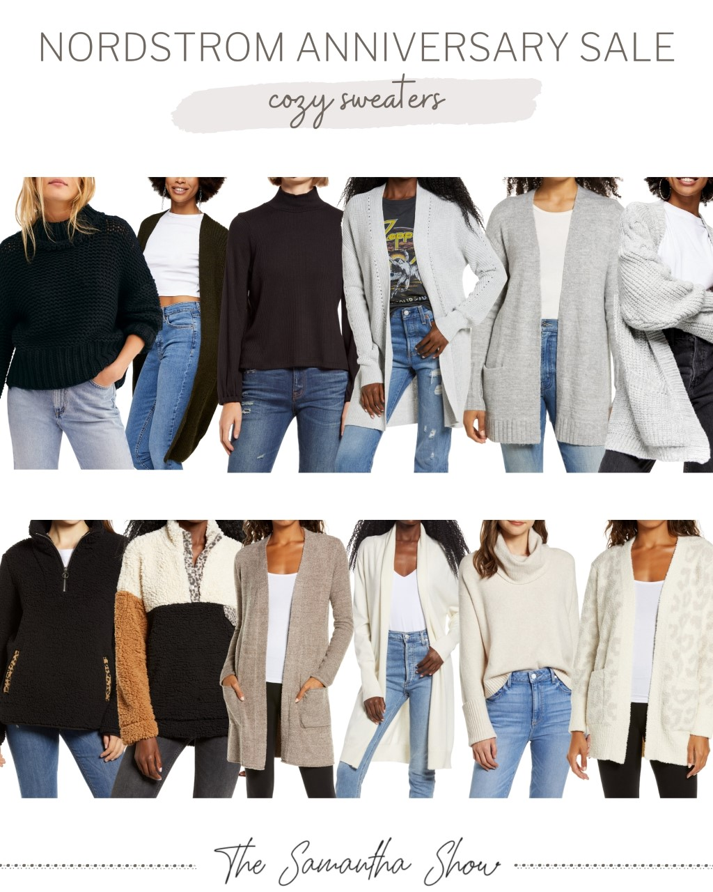 Nordstrom Anniversary Sale: Cozy Sweaters