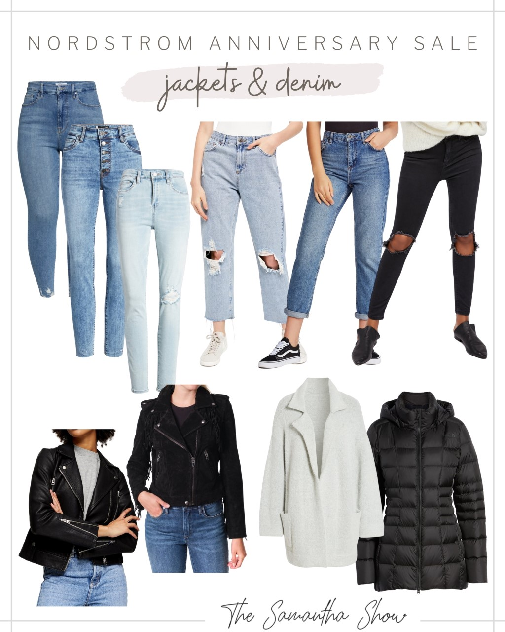 Nordstrom Anniversary Sale: Denim and Jackets