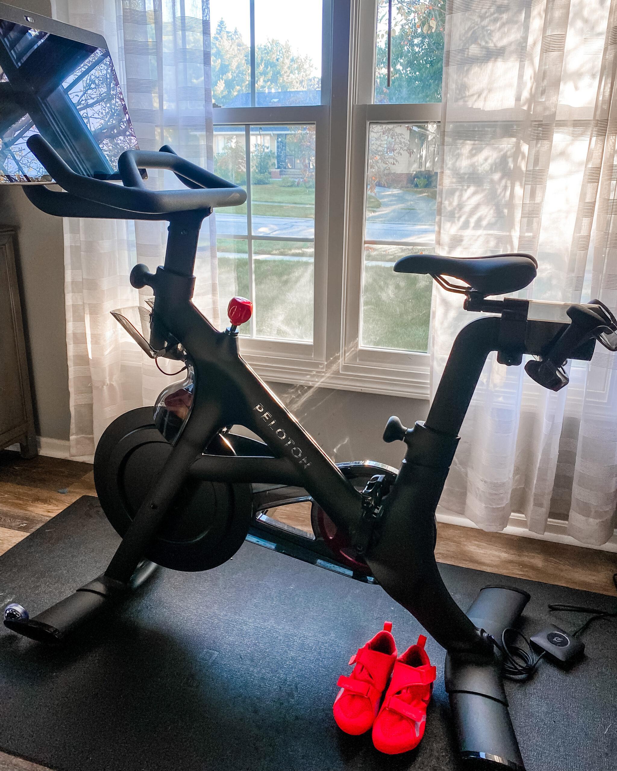 the new peloton bike+